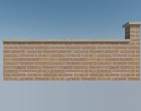 brickwall 2 3D asset
