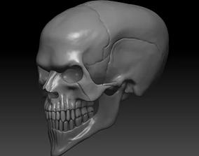 Evil Skull 3D Print