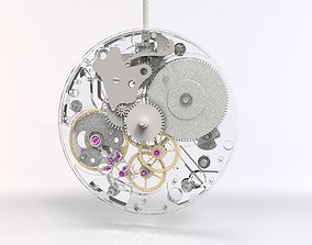 A watch movement that can be used for 3d printing