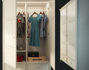 3D Double door wardrobe Riverdi