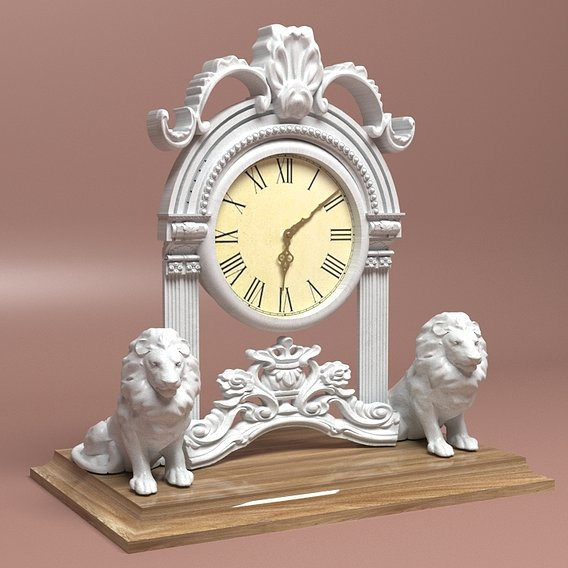Lioned Clock