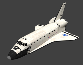 3D Space Shuttle Atlantis