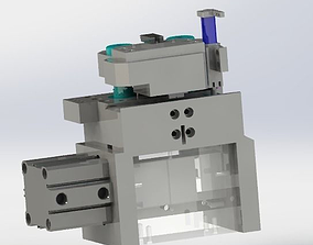 3D model Clever z axis transverse mechanism