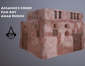 ARAB HOUSE GAME READY 3D asset
