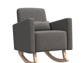 3D model Karla Dubois Milo Rocking Chair
