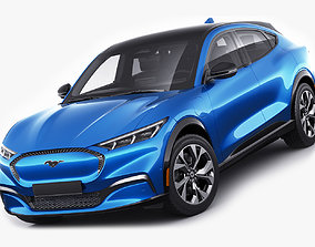 Mustang 2021 Mach-E electric SUV 3D model