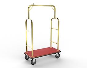 Hotel Trolley 01 3D model