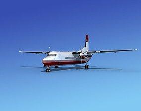 3D model Fokker 50 Corporate 2