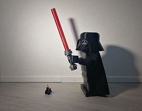 GIANT 3D PRINTED LEGO STAR WARS DARTH VADER