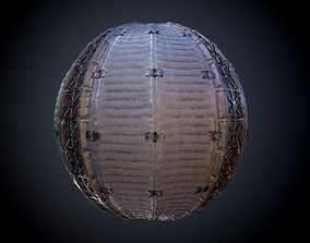 Sci-Fi Military Seamless PBR Texture 27 3D
