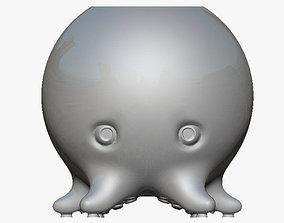 3D print model Cartoon Octopus Pen Holder