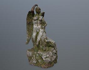 woman statue 2 3D asset game-ready