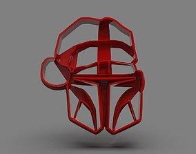 The Mandalorian Cookie Cutter X-mas 3D print model
