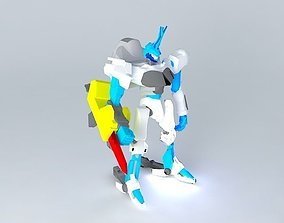 3D model byakuen