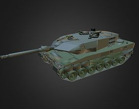 3D model German Main Battle Tank Leopard II A6