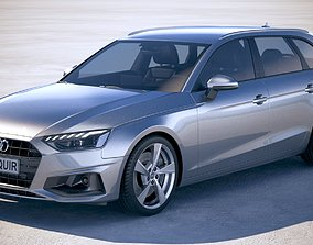 3D Audi A4 Avant 2020