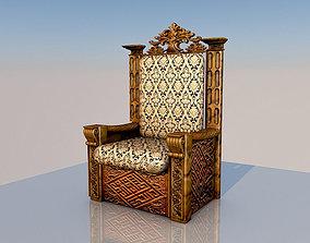 3D King Throne