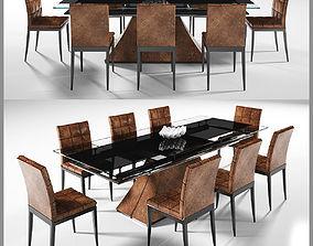 Dinning table 4 3D model
