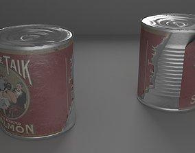 3D asset Tin Can
