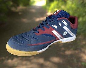low-poly Sport shoe low poly 3D model