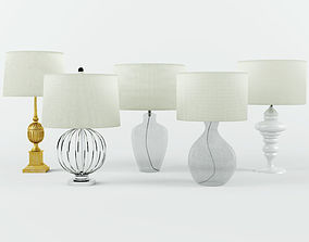 Table Lamps by ZARA HOME 5 3D model