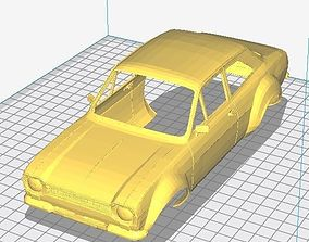 tamiya Ford Escort MK1 Printable Body Car