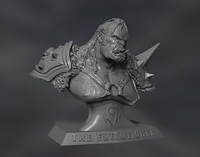 3D print model Warcraft The Executioner portrait