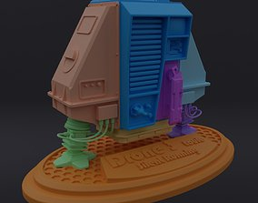3D print model Silent Running Louie - Drone 3