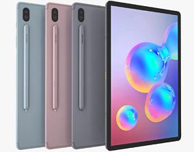 3D model Samsung Galaxy Tab S6 Full Color