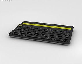 3D model Logitech K480 Black