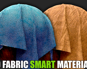 Fabric Smart Materials for Substance 3D model