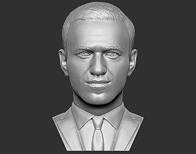 Alexey Navalny bust 3D printing ready stl obj formats