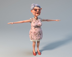 3D model Lovely Old Woman