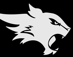 3D model Wildcat Logo