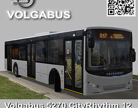 3D asset Volgabus 5270 CityRhythm 12