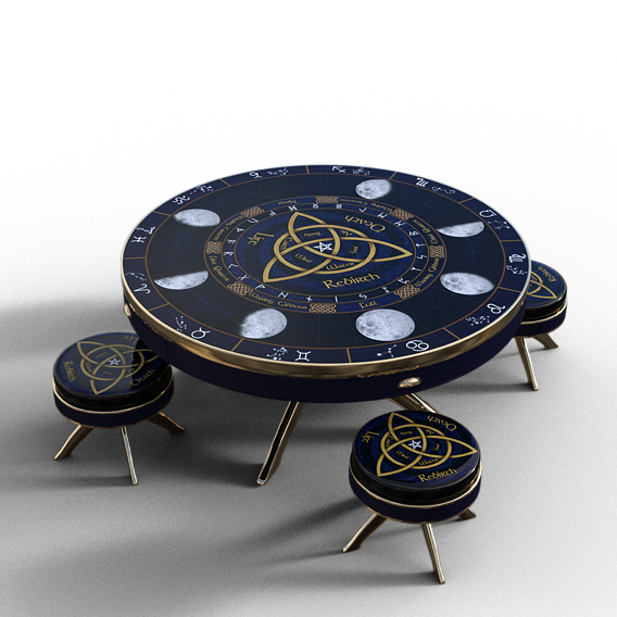 Finished Wicca Table and two other project updates
