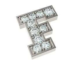 3D printable model Letter F