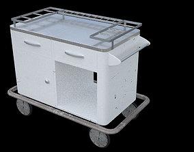 3D Medical Cart old