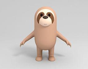 3D Cartoon Sloth