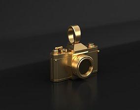 3D print model photography Photo camera pendant