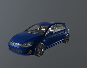 Volkswagen Golf GTI Mk7 3D