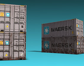Shipping Container 01 3D model