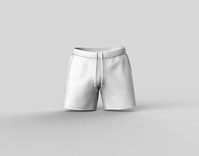 Mens Sport Shorts 3D