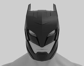 3D printable model Batman Helmet Armored Version from 2