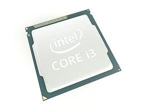 3D asset Intel CPU i3 v1 002