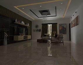 Living Room Interior 3D model living