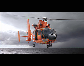 3D Eurocopter AS 365 US Coast Guard