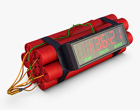3D Dynamite Digital Time Bomb v 1