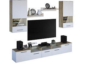 Tv cabinet Denver 3D model