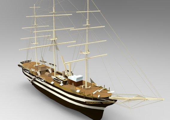 USS Constitution Ship
